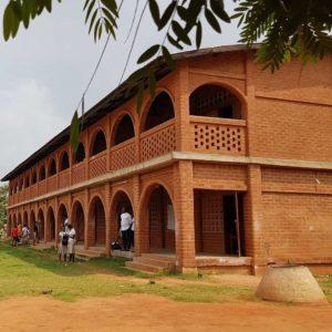 Construction. Lycée de Djagblé